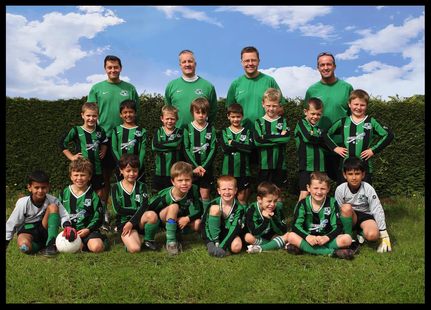 U8s at holmer green sept 10 westwood park football club for Westwood park